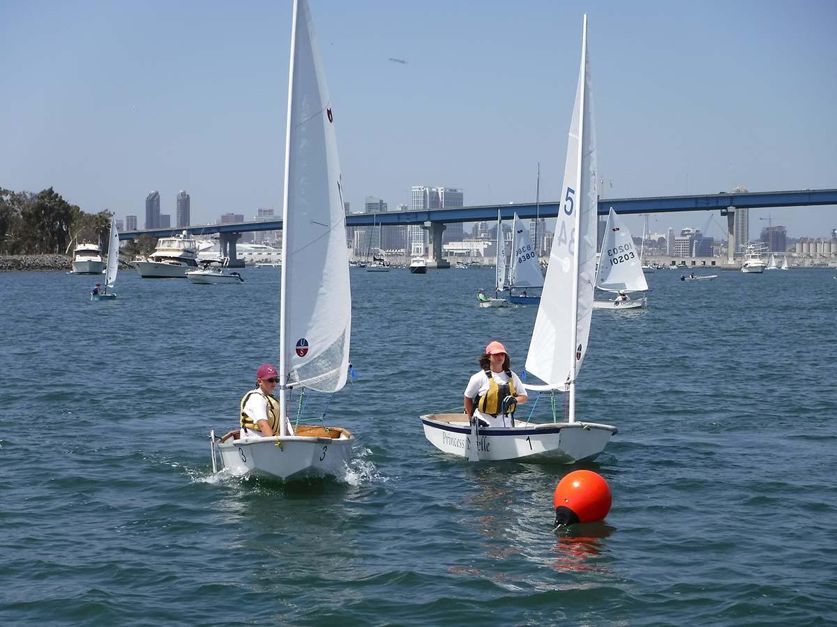Two Junior Sailors